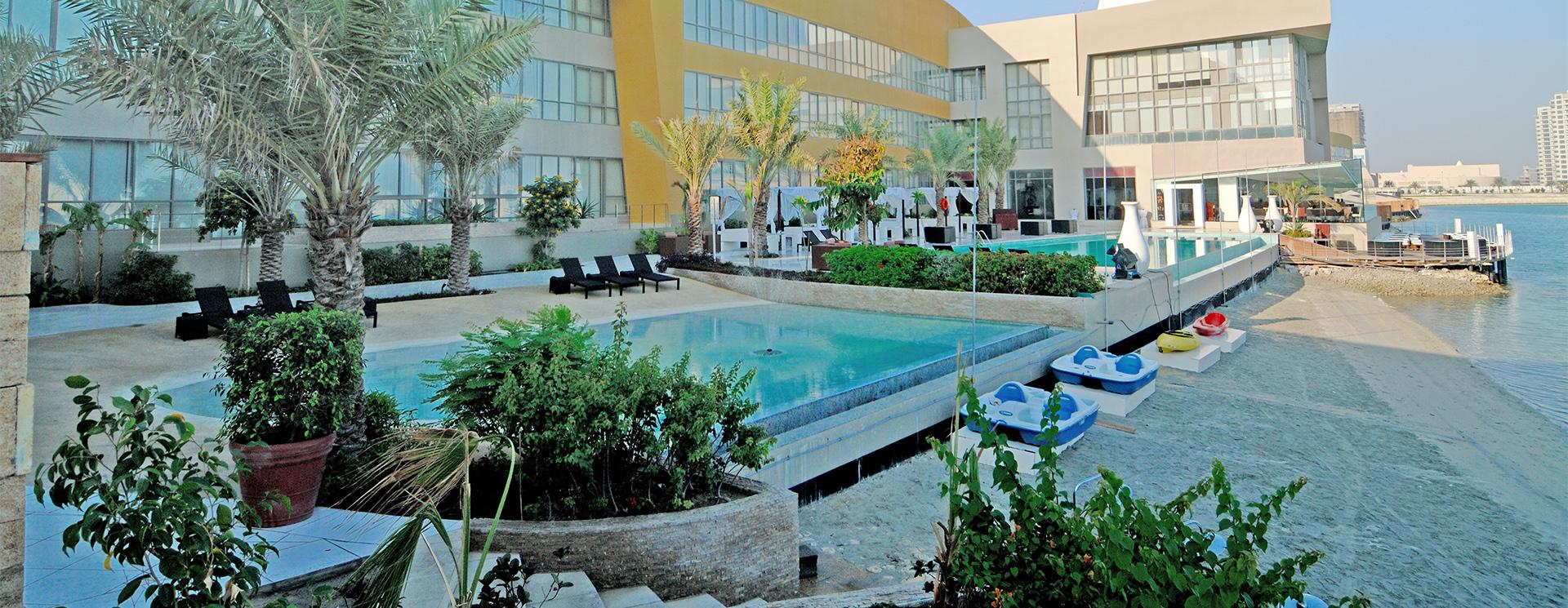 Dragon Resort Hotel Bahrain Amwaj Islands Bahrain Suites Villas Chalets Kingdom Of Bahrain